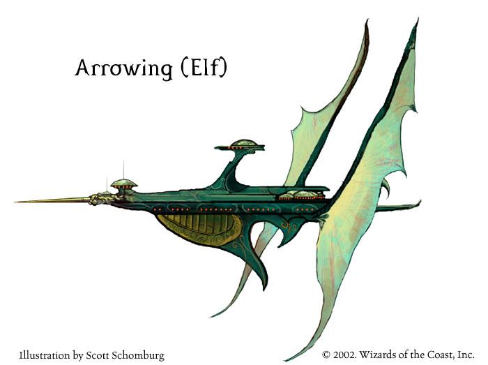 Arrowing par Scott Schomburg