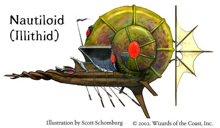 Nautiloid par Scott Schomburg