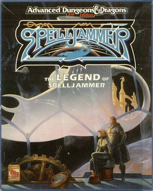 Legend of Spelljammer