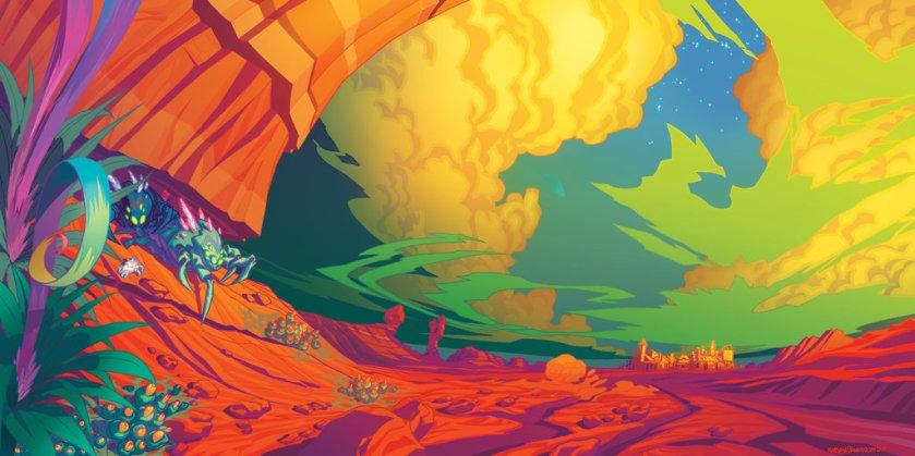 Alien Landscape par Roboworks