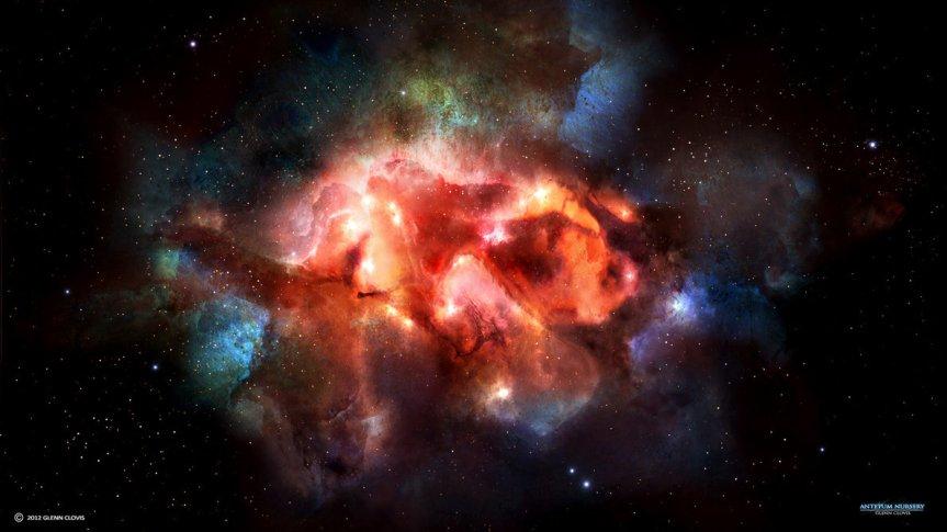 Antetum Nebula par GlennClovis
