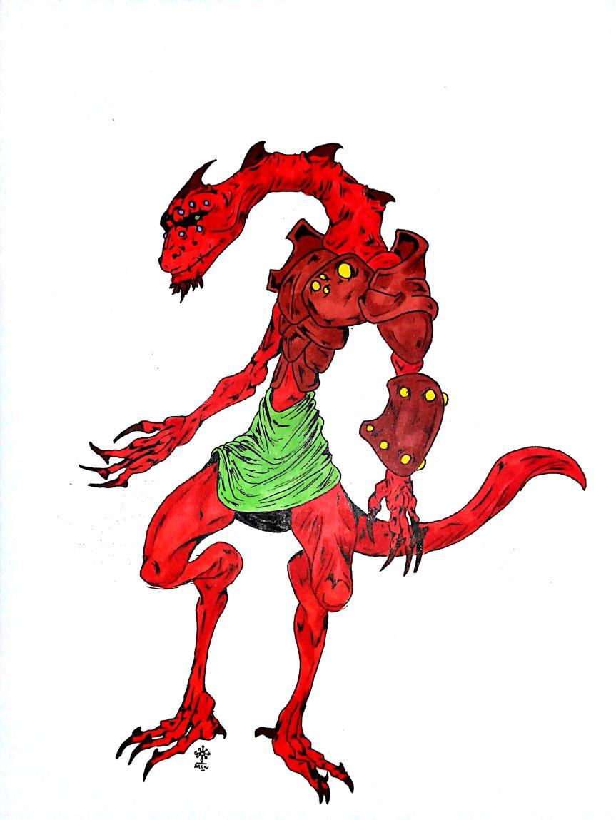 Triton des flammes Suyanat